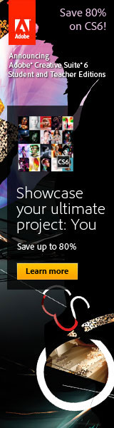 Score big discounts with new Adobe CS6 Education Editions for students and teachers