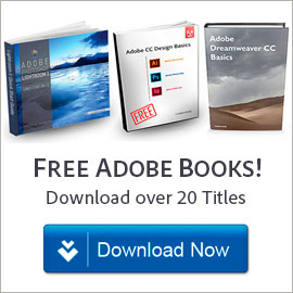 Free! Download over 20 great Adobe books at no charge, learn all products