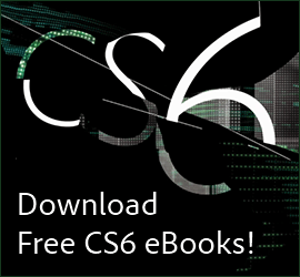 Download Free Adobe CS6 eBooks - Over 1,000 Pages!