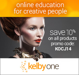 KelbyOne Promotion: Save 10% on All Products with Our Coupon Code! For Photoshop, Lightroom, and Photography