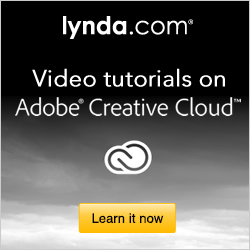 Watch Free New Adobe CC Tutorials on Lynda.com - plus Training for CS6, CS5, CS4, and CS3 too