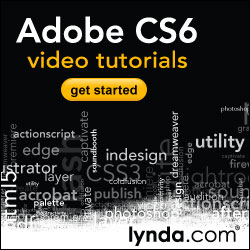 Watch Free Adobe CS6 Tutorials on Lynda.com