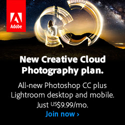 Get New Adobe Photoshop CC 2014 plus Lightroom 5 Desktop and Mobile for Only US$9.99/Month! (Ongoing Price)