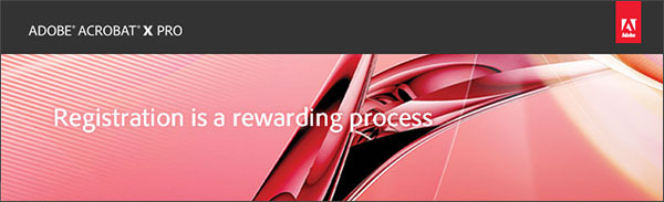 Register Your Adobe Software