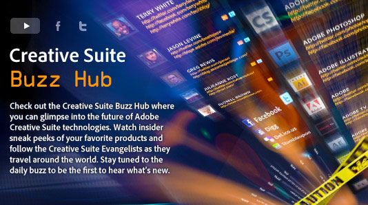 Adobe Creative Suite Buzz Hub