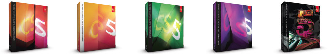 Adobe Creative Suite 5.5 Editions