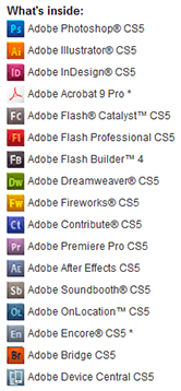 CS5 No Longer Sold – Get Adobe CS6 Now