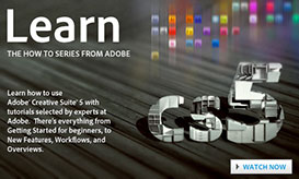 Learn Creative Suite 5