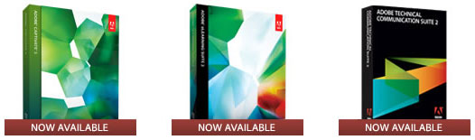 Instantly Download Adobe Captivate 5, eLearning Suite 2, or TCS 2.5