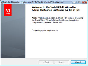 Download and Install Adobe Lightroom 3.2 RC