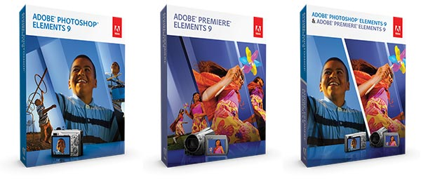 Direct download links for the Adobe Elements 9 family