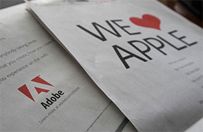 Adobe loves Apple and freedom of choice