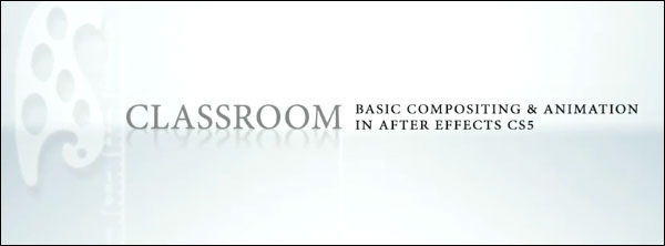 Watch the free class, Introduction to After Effects CS5