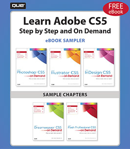 Learn Adobe CS5 – Click to Download a Free eBook