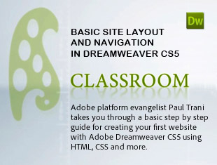 Create a website with Dreamweaver CS5 using HTML, CSS and more