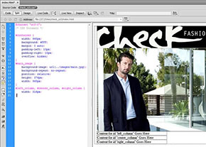 Read the six-part visual tutorial on Adobe Dreamweaver CS5