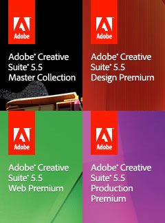 See the New Adobe CS5.5 Suites