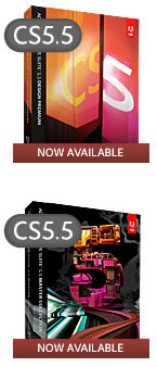 CS5.5 No Longer Sold – Get Adobe CS6 or CC Now