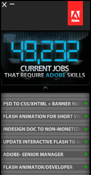 Free Download: The Adobe Job Feed App