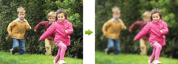 Photoshop Elements 10: New Depth of Field Effect