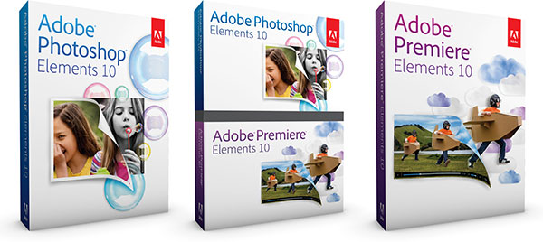 Photoshop Elements 10 and Premiere Elements 10 are Out