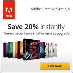 Upgrade to Adobe CS5.5 Now and Save!