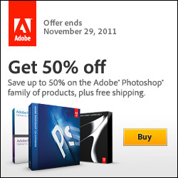Get Up to 50% Off Adobe Photoshop Products