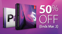 Use Special Coupon for Half Price on the CS5.5 Production Premium Suite or Premiere Pro CS5.5!