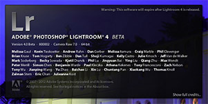 Download the Free Adobe Lightroom 4 Beta!