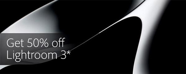 Get Adobe Lightroom 3 for Half Price!
