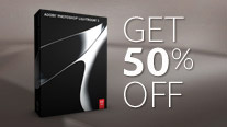 Save 50% on Adobe Photoshop Lightroom 3!