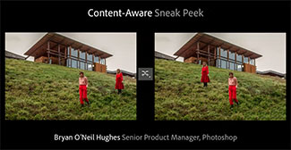 Photoshop CS6(?) Sneak Peek by Bryan O'Neil Hughes, Senior Product Manager