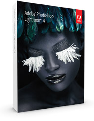 Adobe Photoshop Lightroom 4 Boxshot