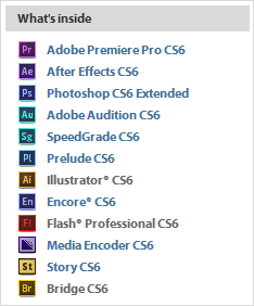 First Look Adobe Cs6 Production Premium Suite What S New Prodesigntools
