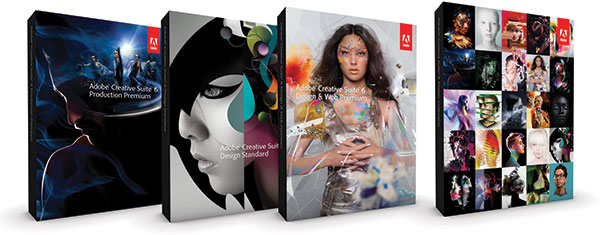 See the Adobe Creative Suite 6 Suite Edition Family