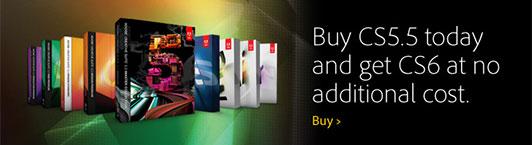 Save Money: Buy CS5.5 Now and Get CS6 Free!