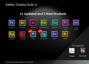 What's New in Adobe Creative Suite 6?