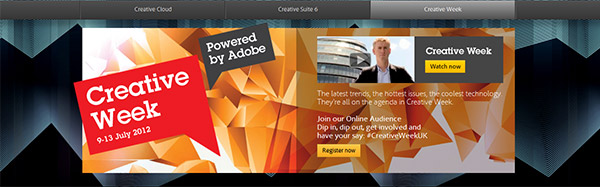 Watch Adobe Creative Week Shows with CS6 Demos, Tutorials, How-to's, and More!