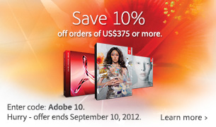 Save 10% with Coupon Code for Adobe's Labor Day Sale