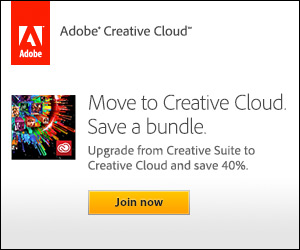 Adobe Creative Cloud Introductory Promotion - Existing CS Product Owners Save 40%! (*Extended*)