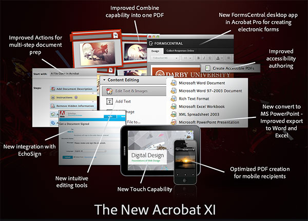 What's New in Adobe Acrobat XI Pro?