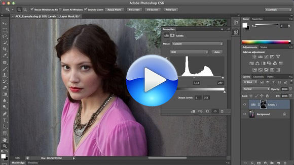 Watch the Free Photoshop CS6 How-to Tutorial: Top 10 Techniques