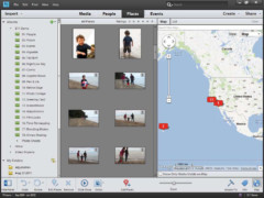 Photoshop Elements 11 New Feature: Mapping of Photos and Videos (click to enlarge)