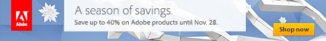 See All of Adobe's Current Deals of the Season!