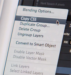 New Feature Coming in Adobe Photoshop: Copy CSS