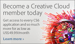 You can get a Creative Cloud membership for $1-$2 a day, giving full access to nearly all of Adobe's latest and greatest products including the complete CS6
