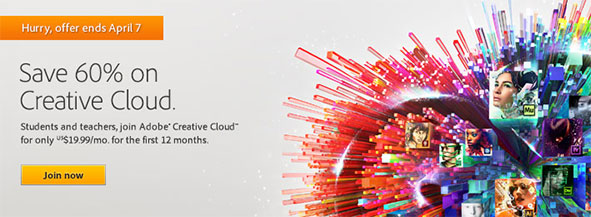 Get New Adobe Creative Cloud for $19.99/Month - Save 60% Off the Regular Price, No Promotion Code Needed