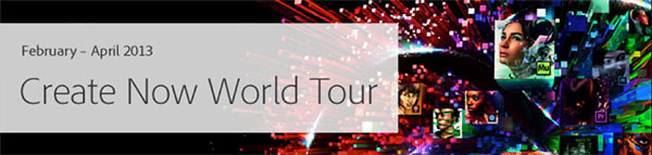 Check Out the Free Create Now World Tour and Save $400 on Adobe MAX!