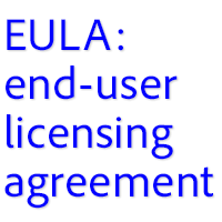 See the Adobe End-User License Agreements (EULAs)
