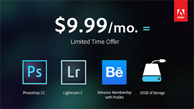 Learn More About the Adobe Photoshop Photography Program, Including Photoshop CC and Lightroom 5